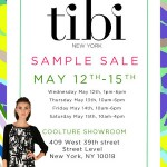Save the Date… Tibi Sample Sale