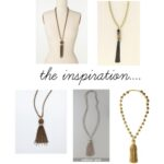 Sunday Crafts: Rose Gold Tassel Necklace