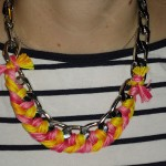 Sick Day DIY: Honestly WTF's DIY Woven Chain Bracelet