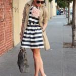 Blair Eadie's Gorgeous Striped Dress!