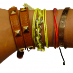 Crafts are Back: Make a Neon Wrap Bracelet