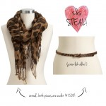 Obsession of the Day: Inexpensive Leopard Accents from Old Navy