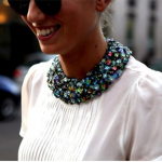 diy-spiration… Rhinestone Collar