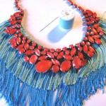 {guest post} DIY Statement Necklace by Thanks I Made It.