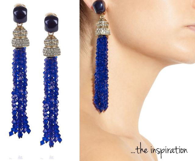 Diy Oscar De La Renta Inspired Tassel Earrings The Stripe