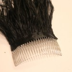 DIY: Feather Hair Comb