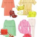 Pastels + Neons