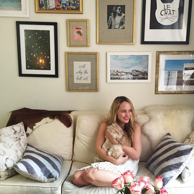 shooting with @careercontessa today for a fun little career profile.…
