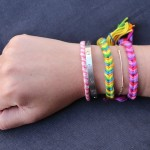 DIY Friendship Bracelets: Fishtail Braid.