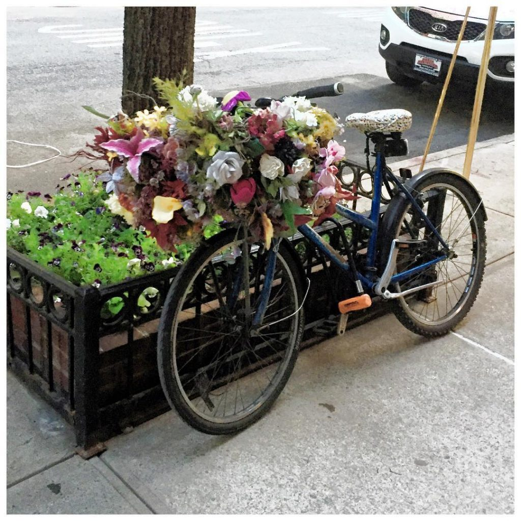 the happiest bicycle spotted on the Upper East Side Happyhellip