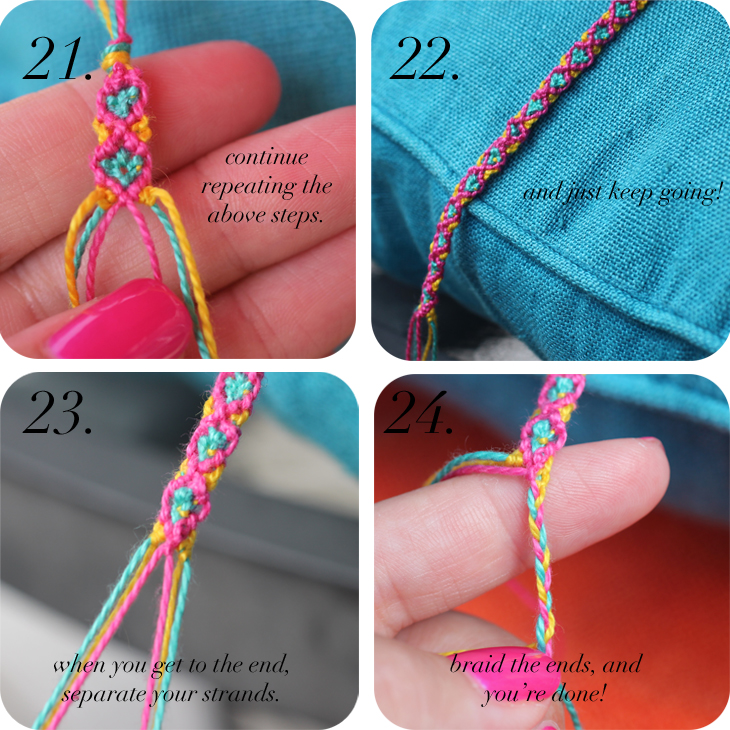 Diy Diamond Friendship Bracelets The Stripe