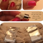 DIY:  Rope + Crystal Spike Necklace