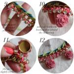 DIY:  Sparkly Blossom Necklace