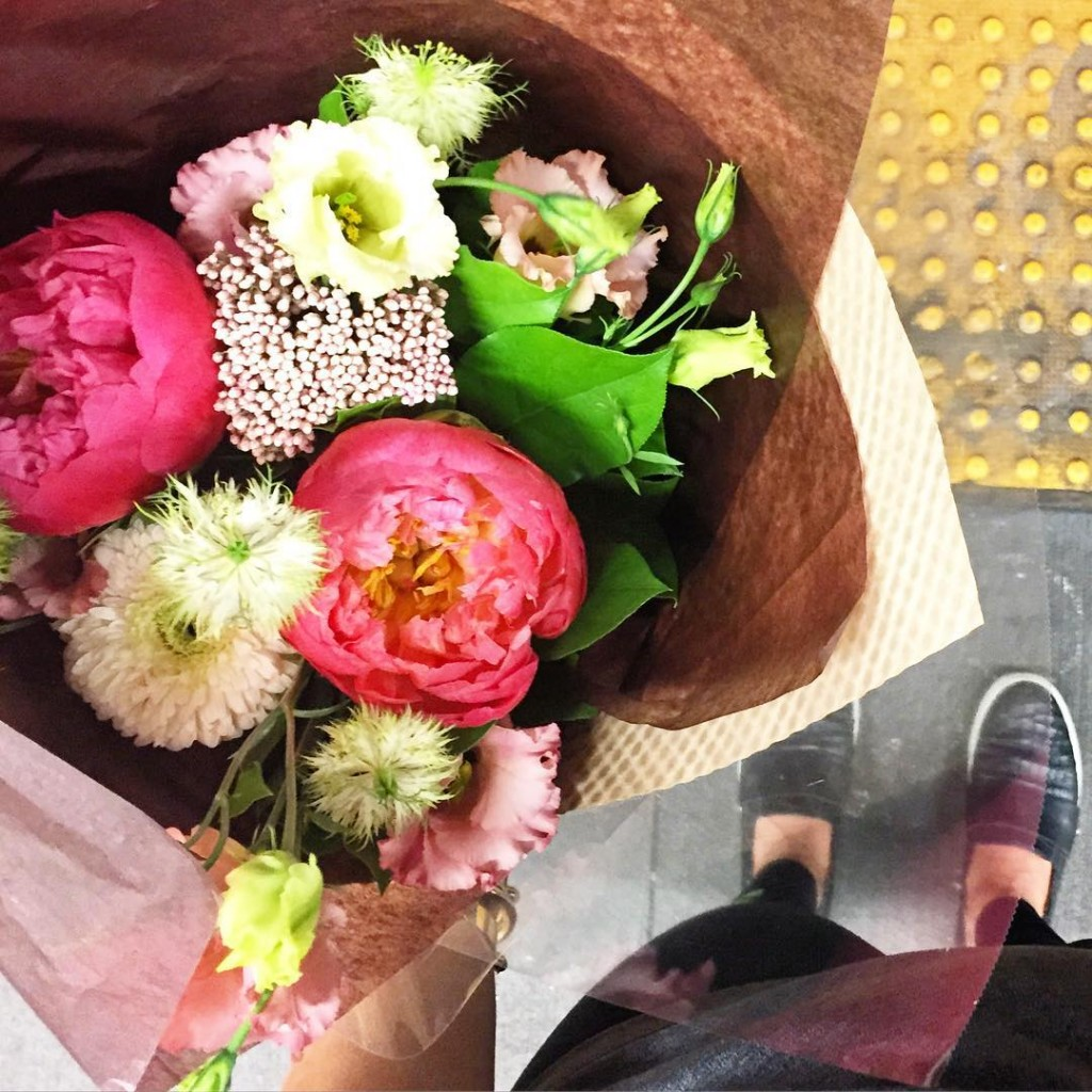when in doubt buy yourself the flowers duh