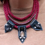 DIY:  Shourouk inspired Rope & Crystal Necklace