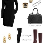Putting it Together:  The Cowl Neck Dress