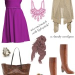Putting it Together:  Fuchsia For Fall