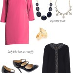 Putting it Together:  Pink & Navy