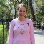 DIY:  Sequined Cat Sweater