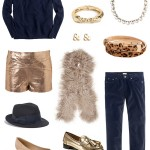 Fall Musts:  Navy + Gold