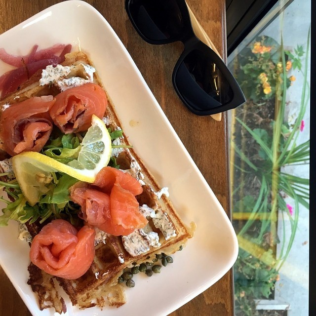 lox on a waffle? yes please finally made a visithellip