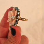 DIY:  Erickson Beamon Inspired Ring