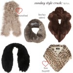 Sunday Style Crush:  Fab Furs