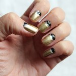 DIY:  Metallic Moon Manicure