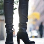 Outfit:  Leather Legs