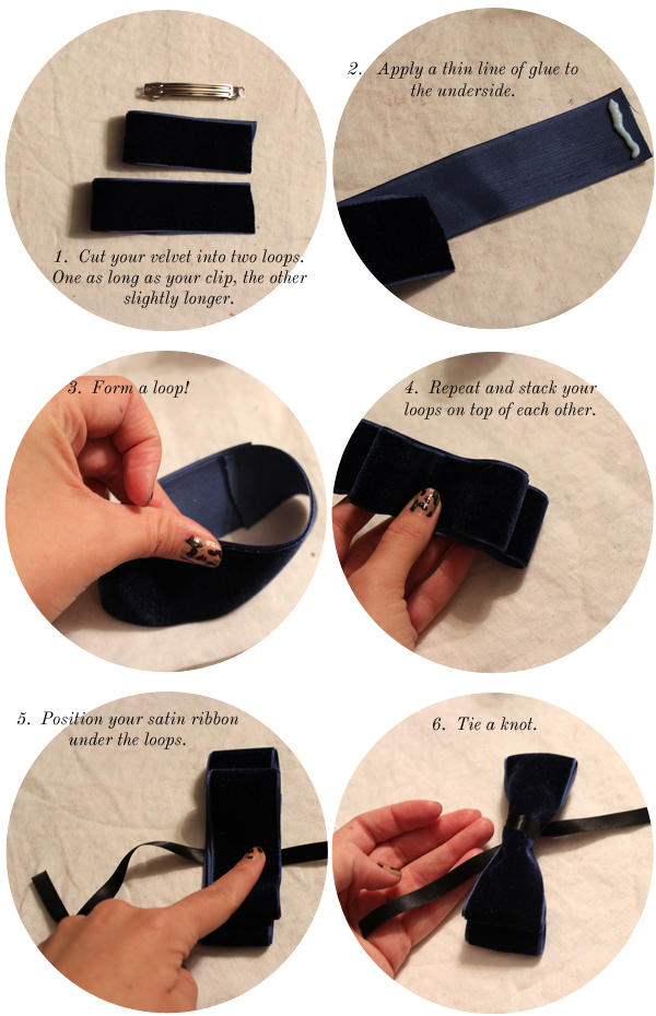 how to make a bow out of brin