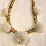 DIY:  Pom Pom Necklace
