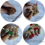 DIY:  Cork Tree Ornament