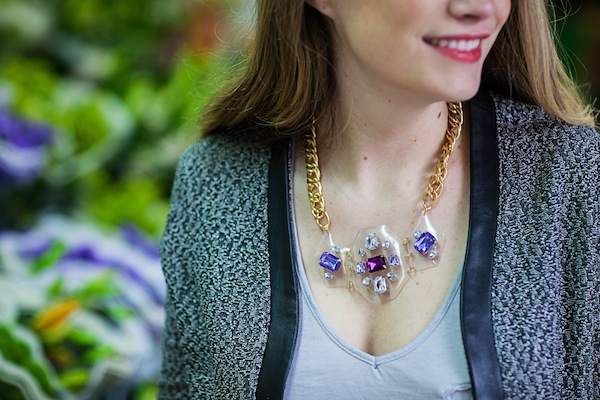 Shourouk Inspired DIY Necklace
