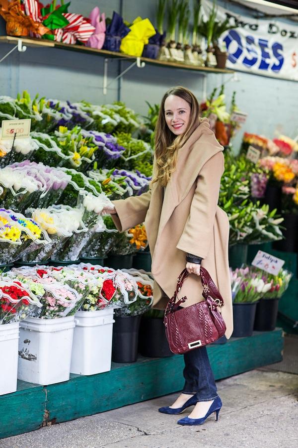 Stripes & Sequins Outfit:  Floral District