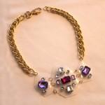 DIY:  Adia Kibur-inspired Lucite Necklace (using Shrinky Dink plastic!)