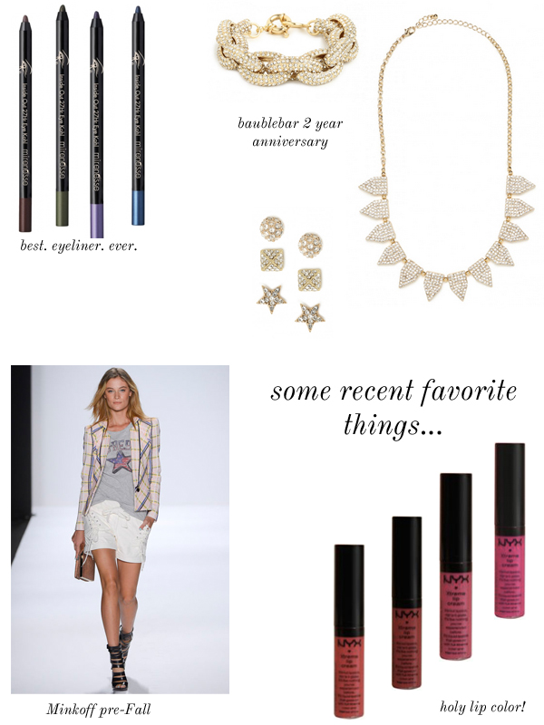 Stripes & Sequins // Favorite Things