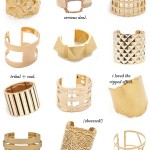 Gold Statement Cuffs