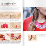DIY Valentine Necklace – To & From Magazine