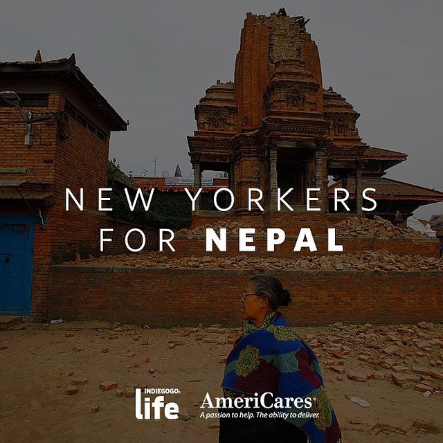 heartbroken by the devastation caused by the earthquake in #nepal.…