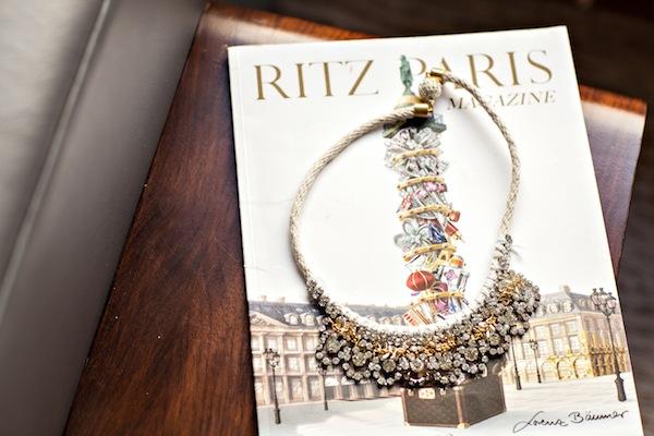 DIY:  Mixed Media Collar Necklace