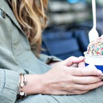 Statement Jewelry + Ice Cream