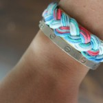 DIY:  Aurelie Bidermann Braided Cuff Bracelet