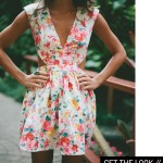 Get the Look:  Little Floral Dress
