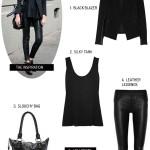 Get the Look:  Black