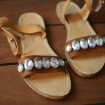 DIY: Marni Jeweled Leather Sandals