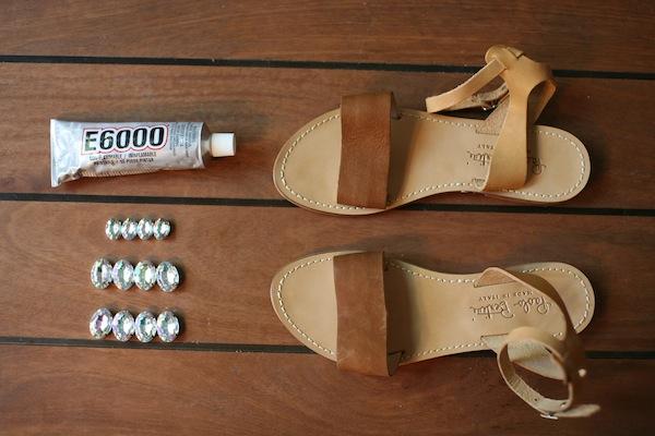 DIY Marni Sandals - Materials