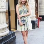 ASOS Salon Floral Dress 3