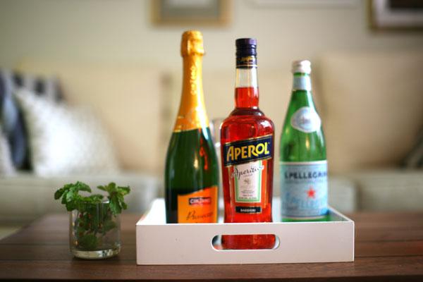 Aperol-Spritz-Ingredients