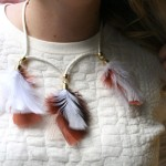 DIY: Feather Necklace