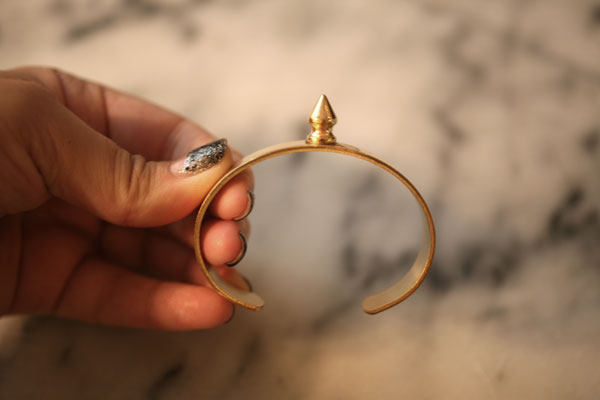 DIY-Spike-Bracelet-Step-2